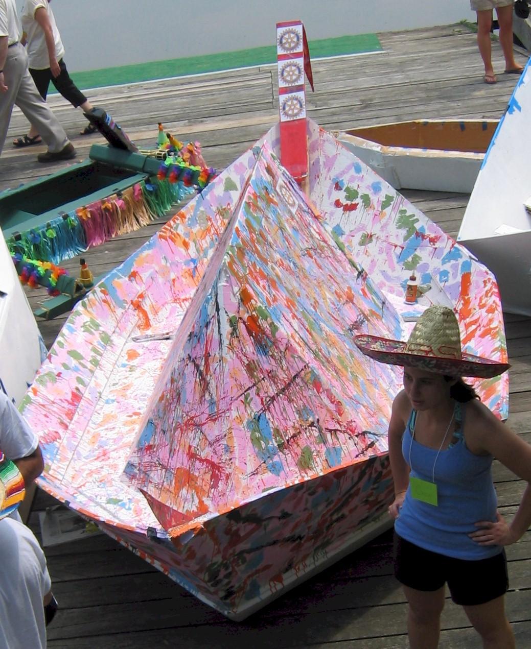 Cardboard boats - Wikiversity