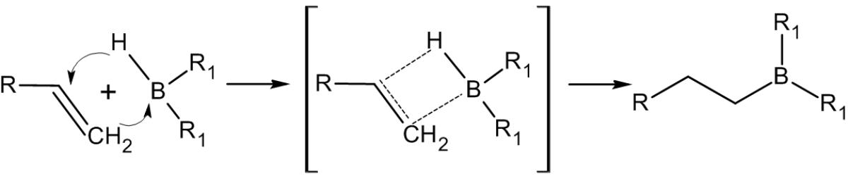 Присоединение борана к алкенам
