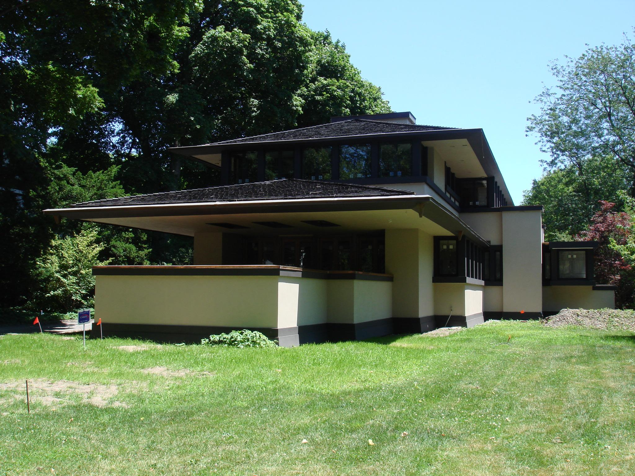 Frank Lloyd Wright Boynton House Minecraft Project