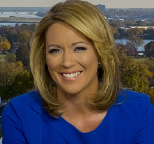 Brooke Baldwin on set in DC (cropped)