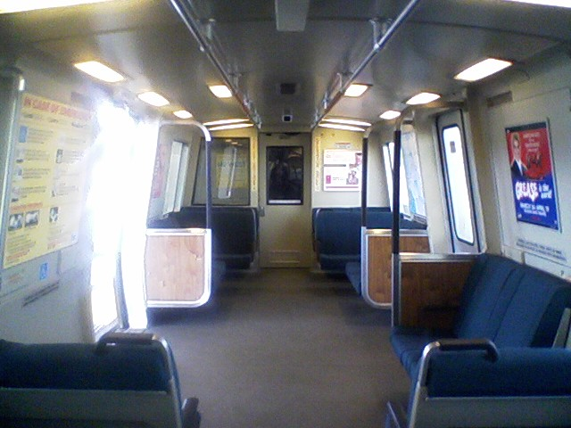 Interior of a C1 car with an upgraded spray-on composite flooring.