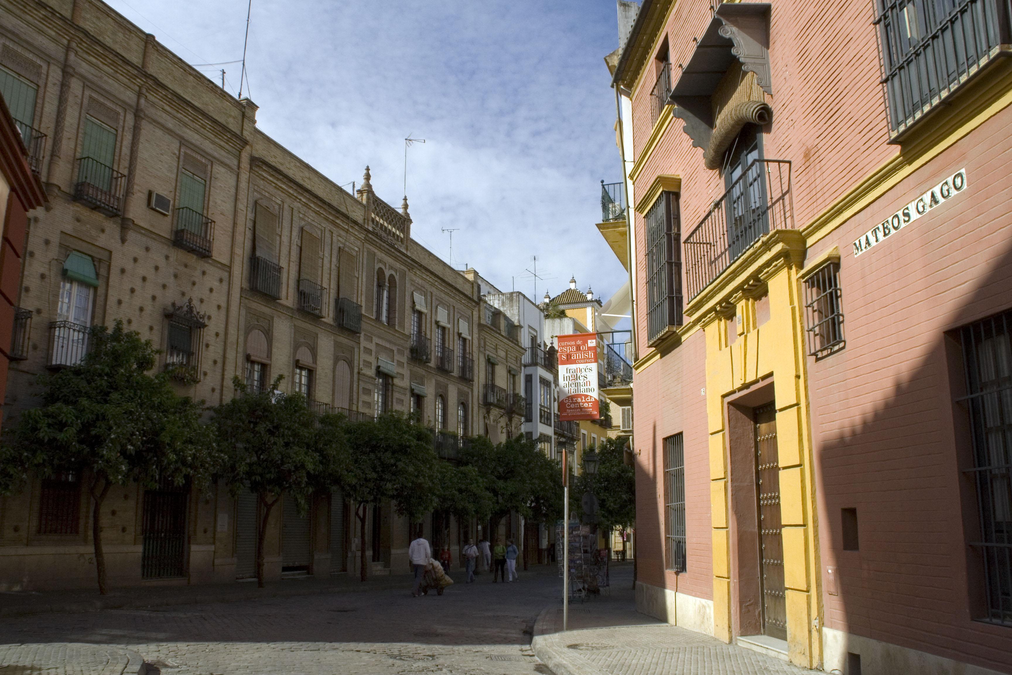 File calle mateos gago wikimedia commons - Calle correduria sevilla ...