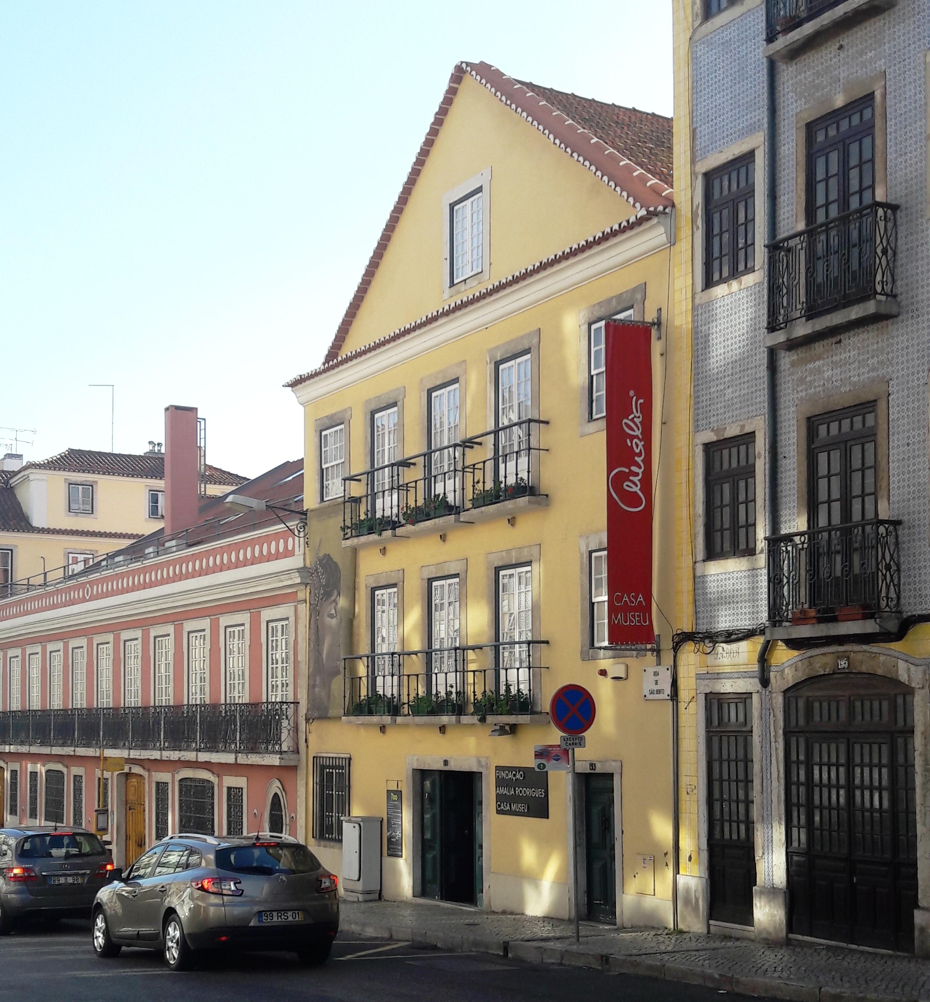 La casa de Amália Rodrigues, en Lisboa, hoy Casa-Museo.