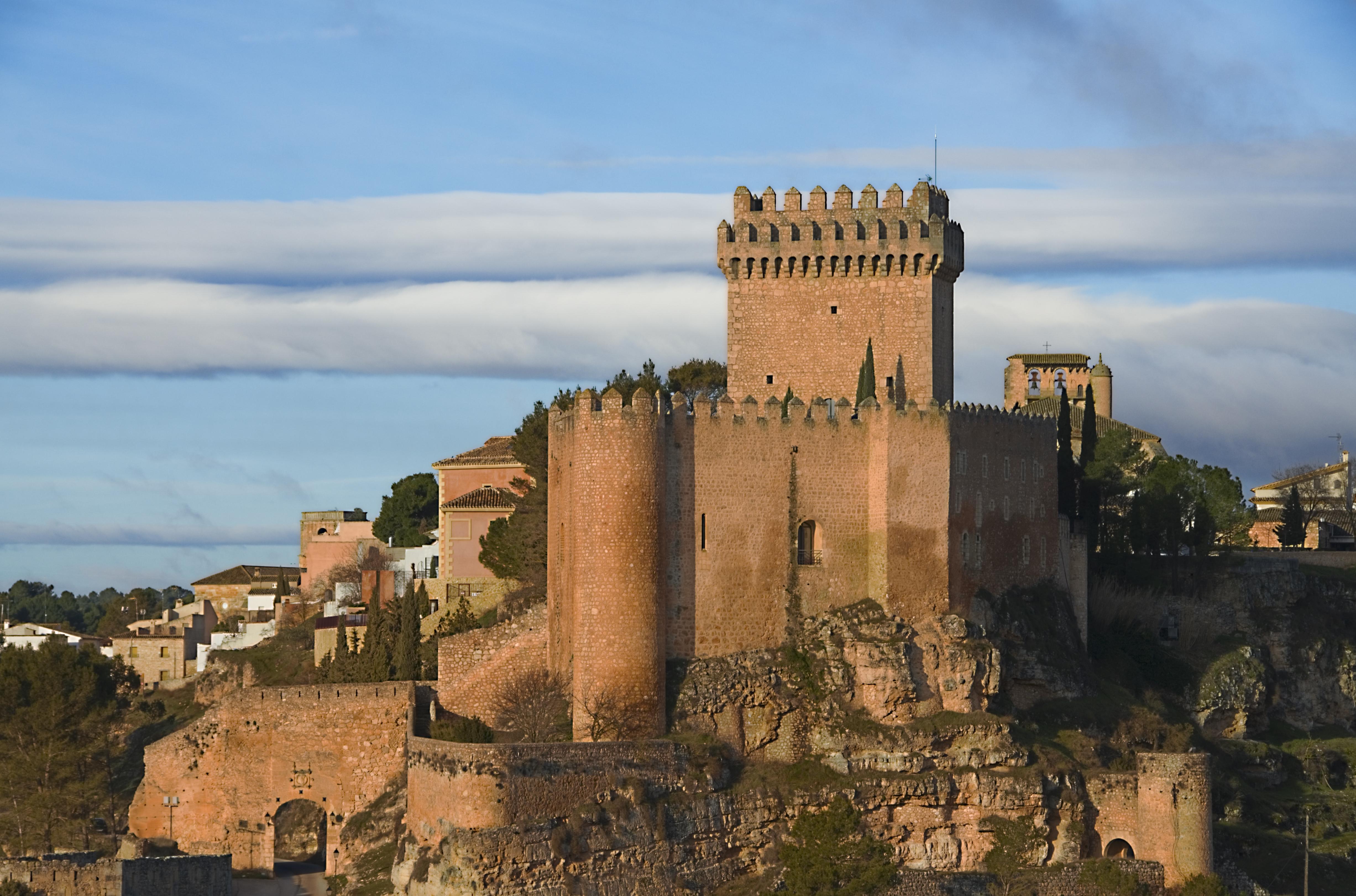 Alarcon Spain  city images : Fitxer:Castillo de las Altas Torres Alarcón Viquipèdia, l ...