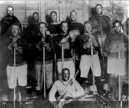Coloured Hockey League, 1910