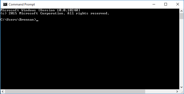 File:Command Prompt on Windows 10 RTM.png