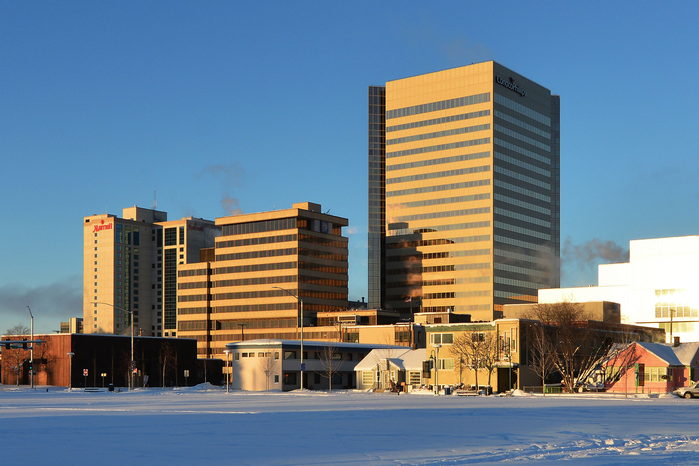List Of Tallest Buildings In Anchorage Wikiwand