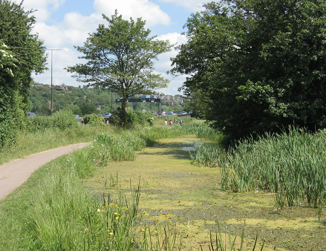 Crulim Branch of The Mon. and Brec. Canal. - geograph.org.uk - 380707