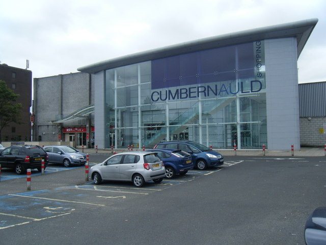 Cumbernauld Shopping Centre - geograph.org.uk - 1505005