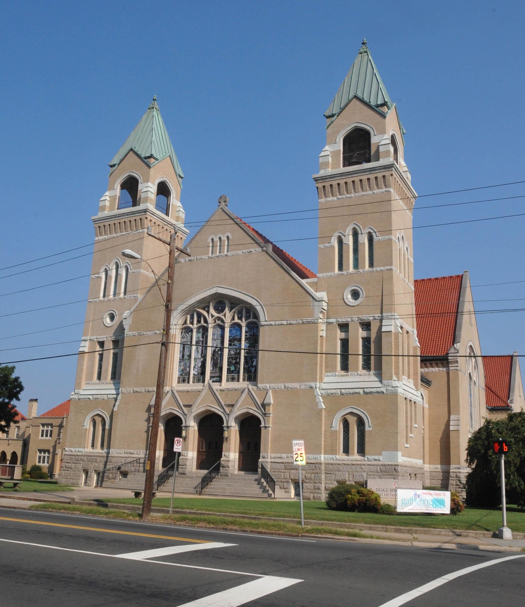 Durham Nc Commons At University Place: File:DUKE MEMORIAL UNITED METHODIST CHURCH, DURHAM COUNTY