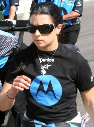 Danica Patrick on Pole Day at Indy, 2007 Danica-r.JPG