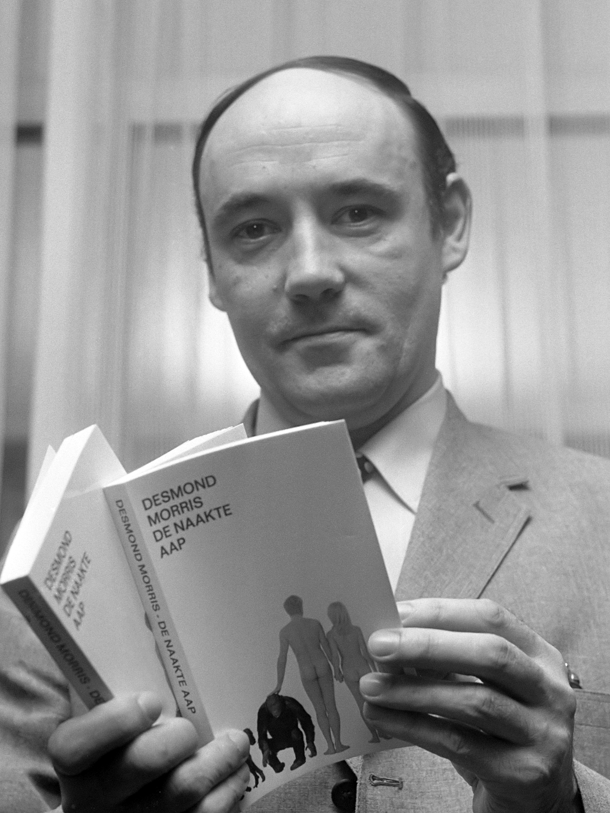 Portrait of Desmond Morris