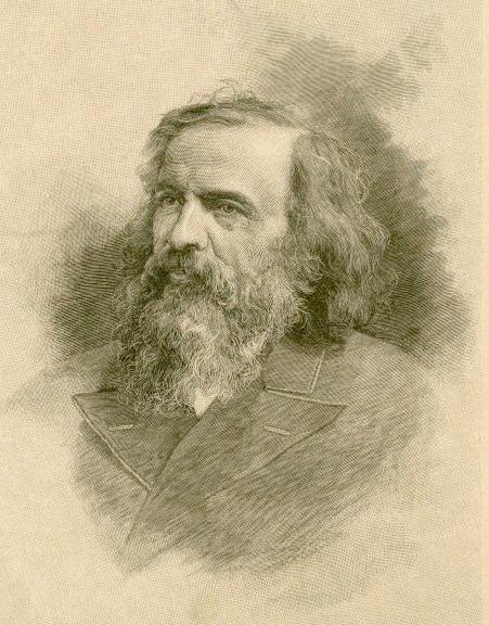 Dmitri Mendeleev (1834–1907).