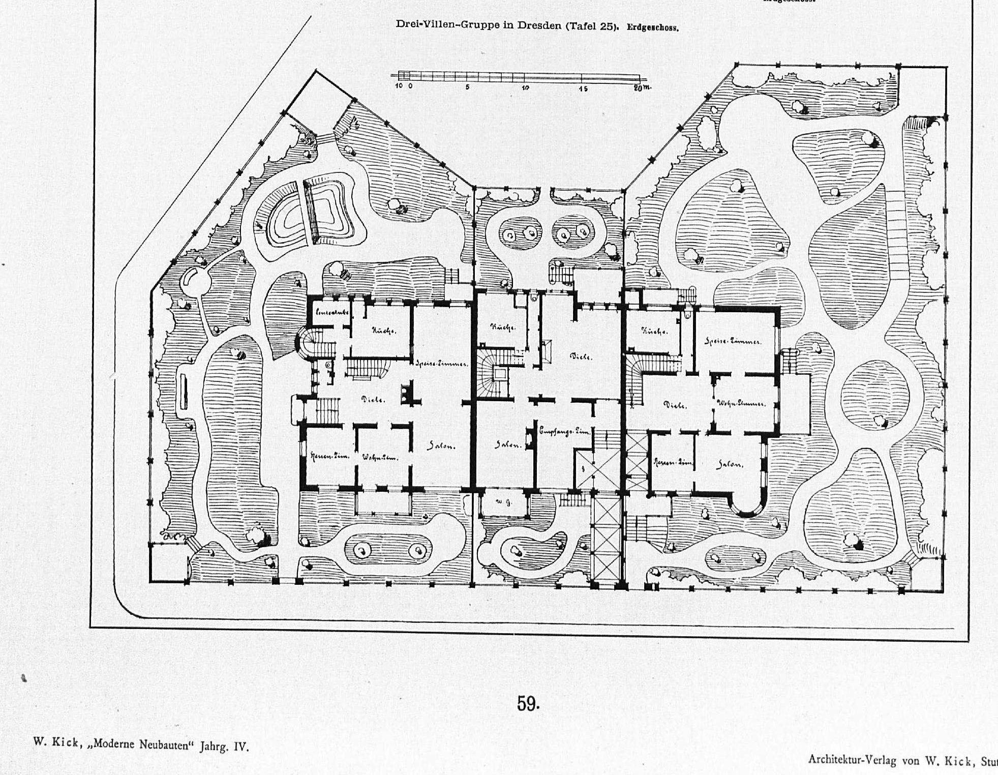 Datei drei villen gruppe dresden comeniusstr 61 62 u 65 for Moderne villen grundriss