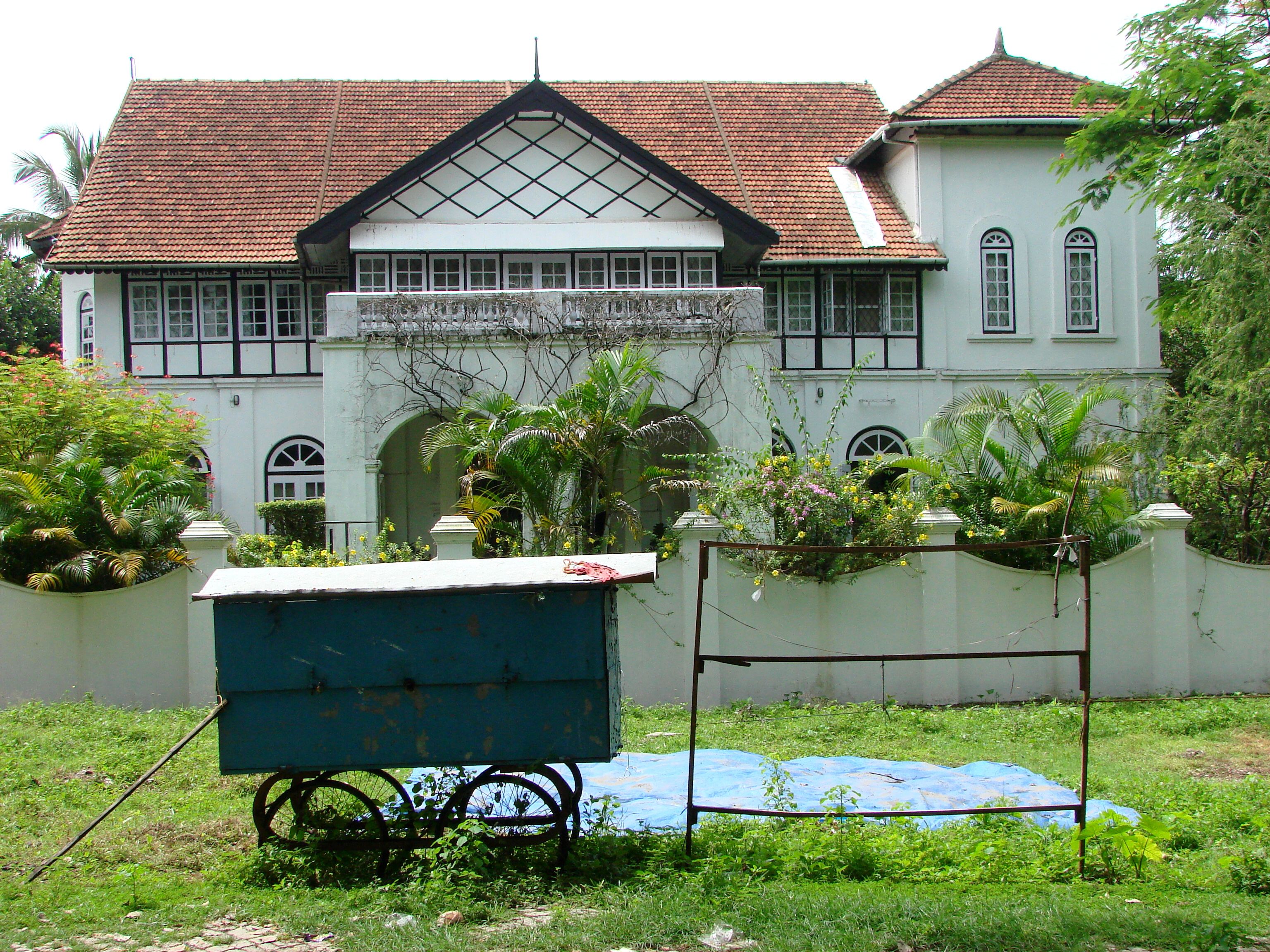 File Dutch Colonial Architecture Old Cochin Kochi India Jpg