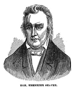 Ebenezer Seaver American politician