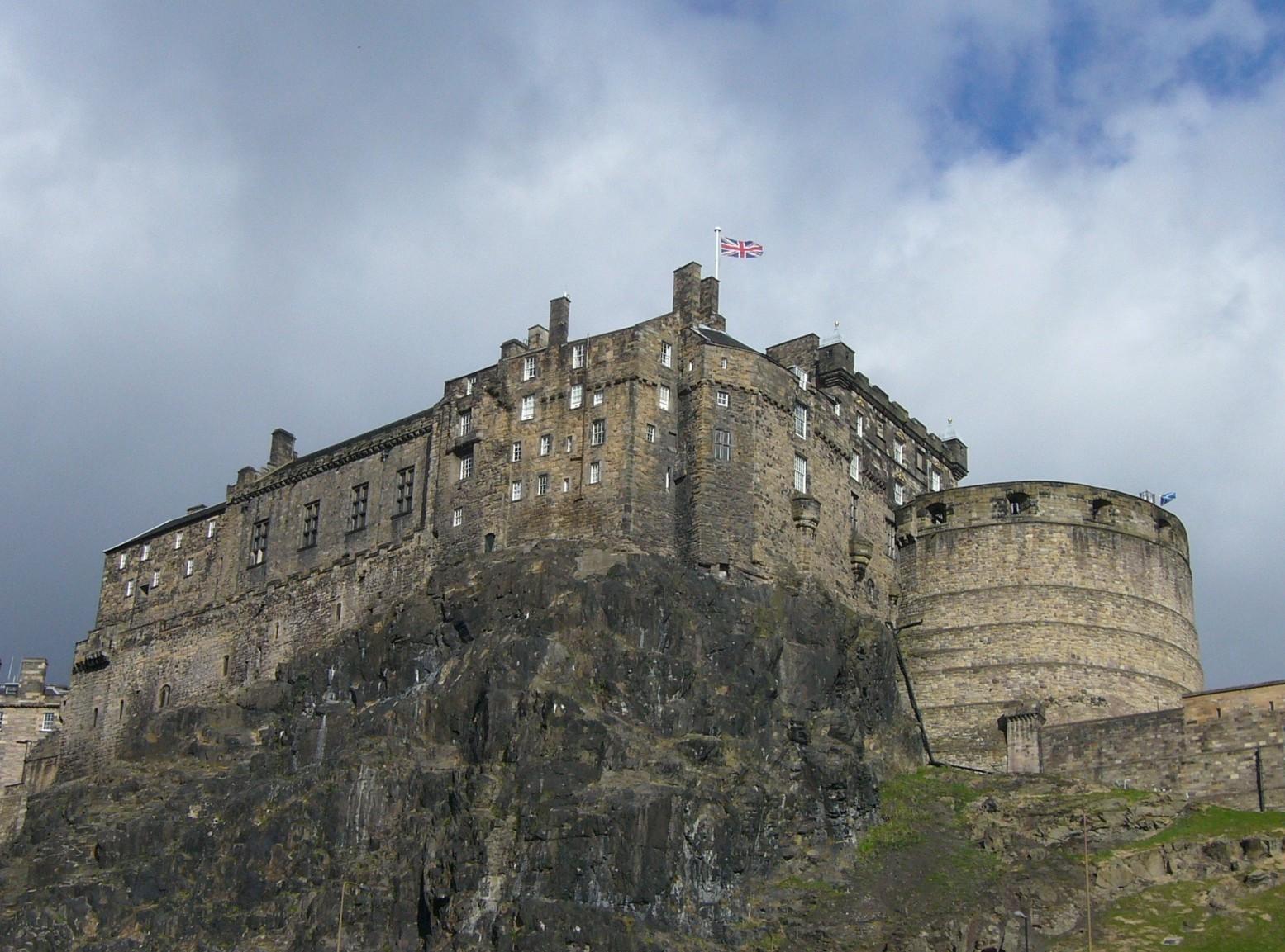 Edinburgh castle pictures