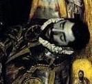 Detalle de Gonzalo Ruiz de Toledo en la pintur...