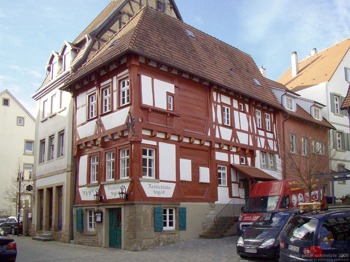Ratsschänke (Eppingen) – Wikipedia