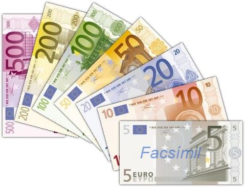 Euro-Banknoten es
