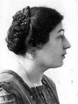 Eva Rosenfeld British-Austrian-born psychoanalyst