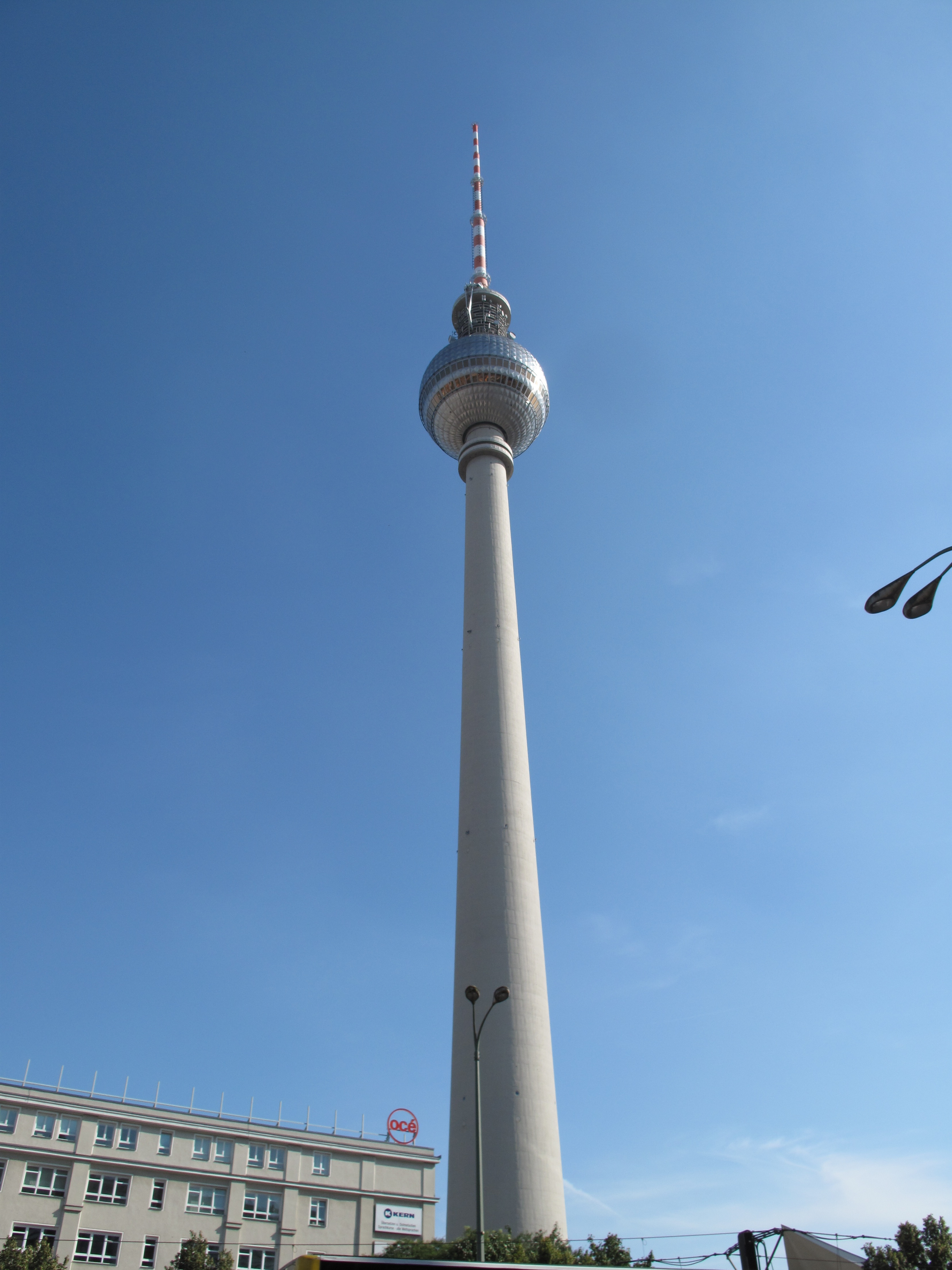 pin fernsehenturm from alexanderplatz a photo on. Black Bedroom Furniture Sets. Home Design Ideas