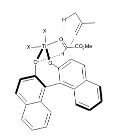 Figure 13. Transition state proposed for the reaction in Figure 12.