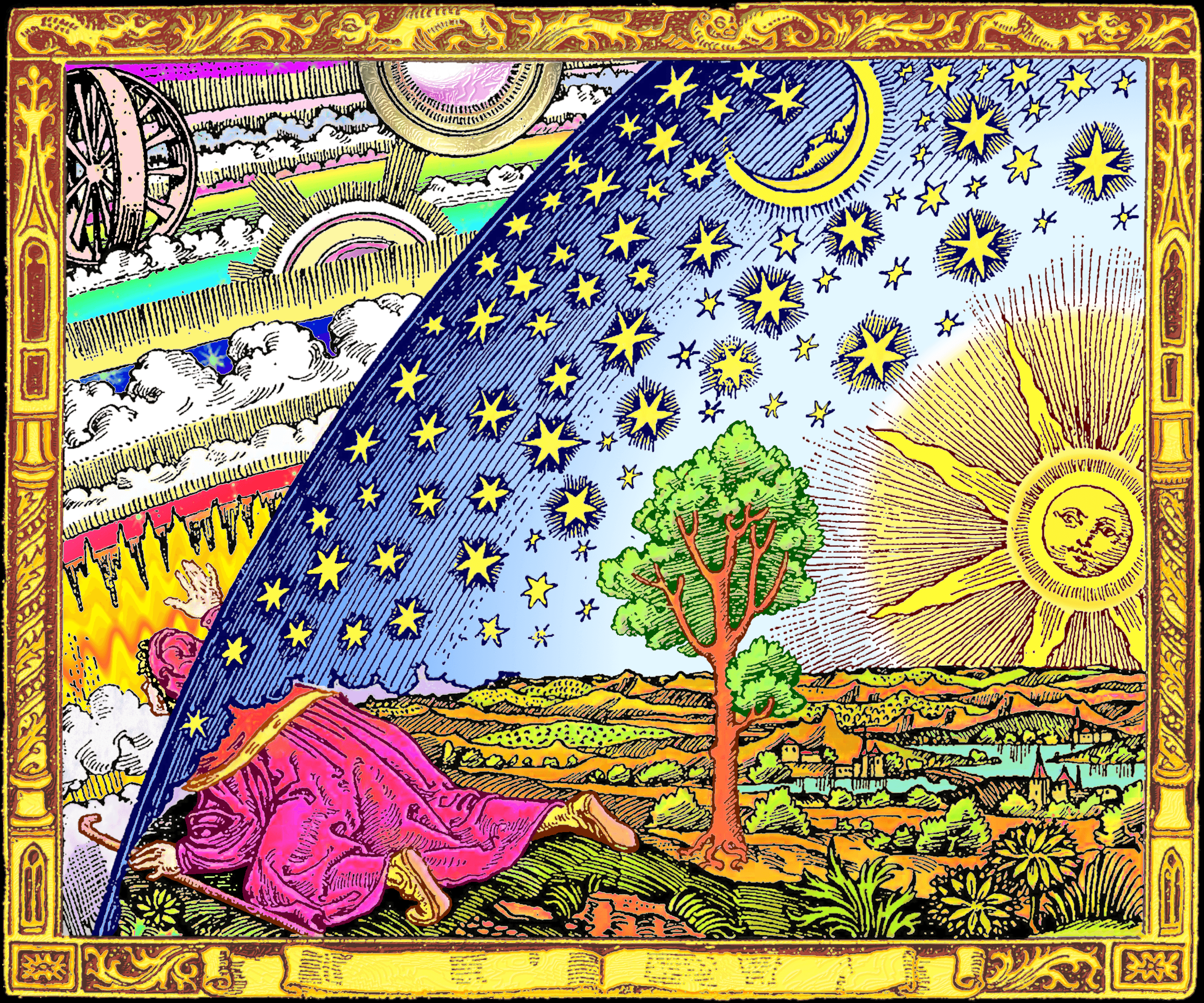 Archivo:Flammarion-color.png - Wikipedia, la enciclopedia libre
