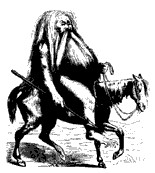 Image of Furcas from Collin de Plancy's Dictionnaire Infernal