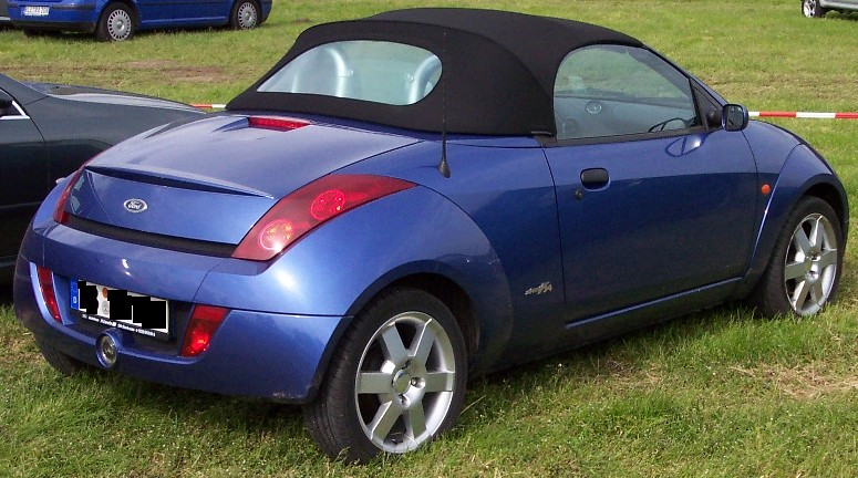 Ford Streetka Blue Hr