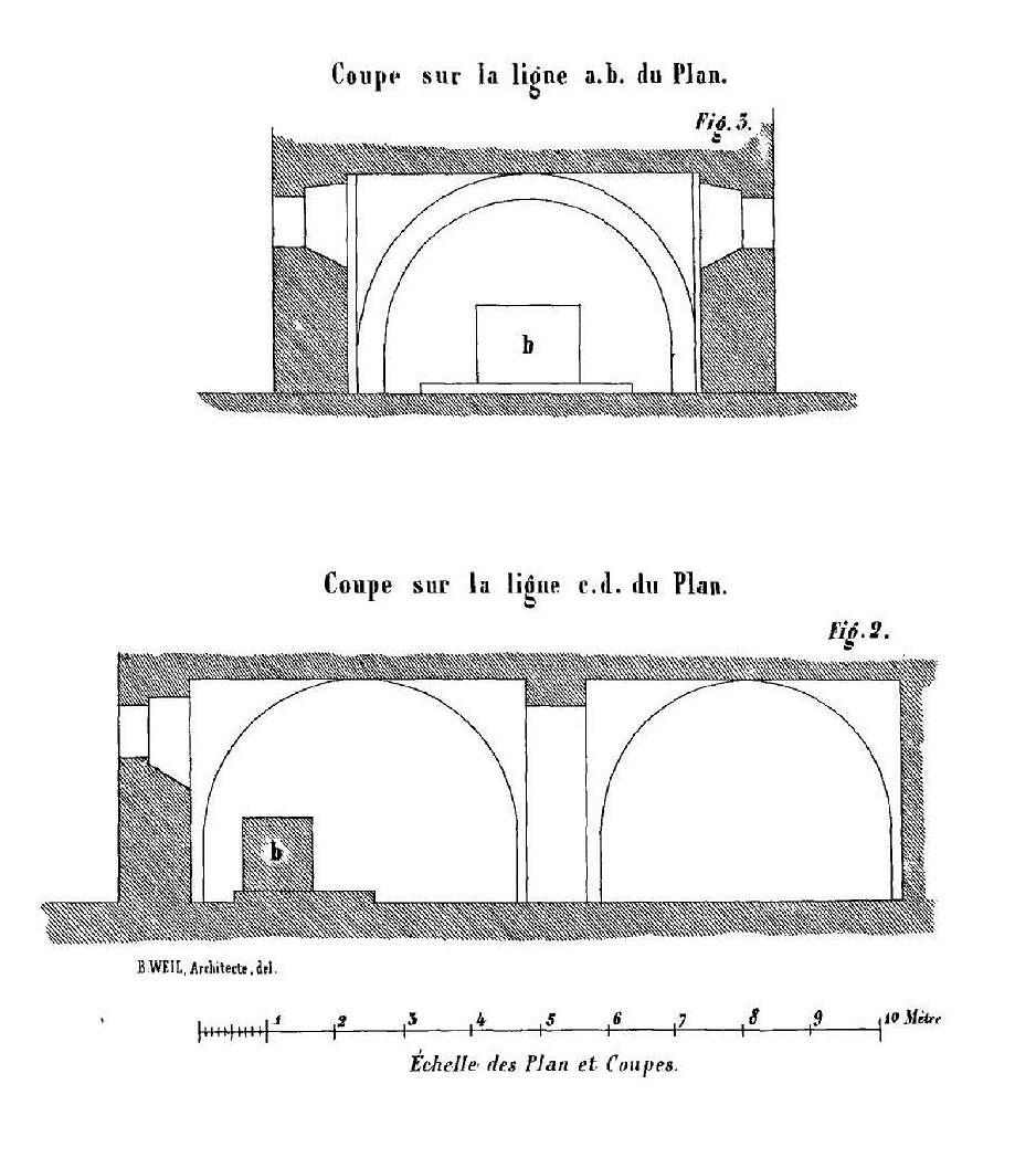 file fouquenies 60 glise saint lucien de montmille coupes de la crypte par b weil. Black Bedroom Furniture Sets. Home Design Ideas