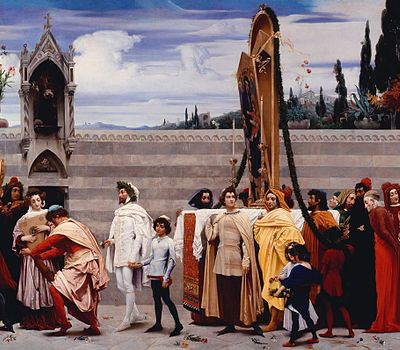 File:Frederic Leighton - Cimabue's Madonna Carried in Procession - crop.jpg