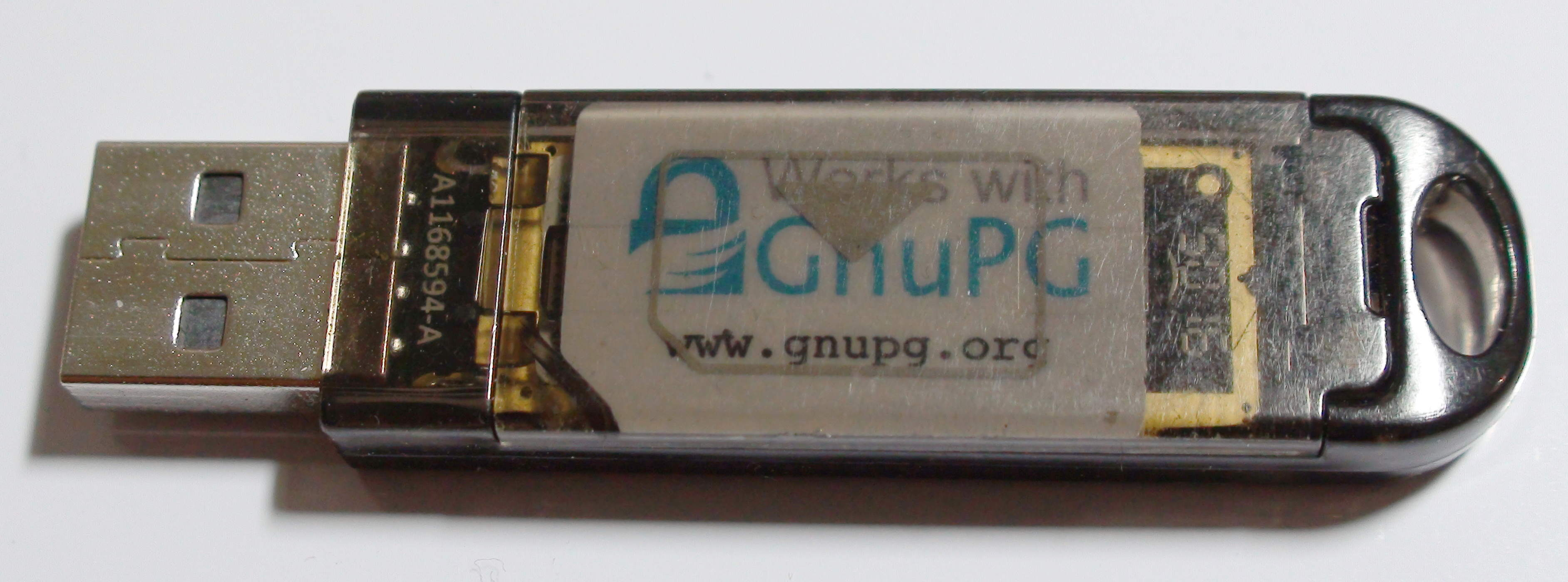 File:Gemalto usb shell token with a punched OpenPGP card inside jpg