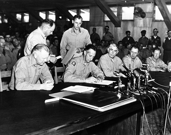 Image result for 1953 korean armistice treaty
