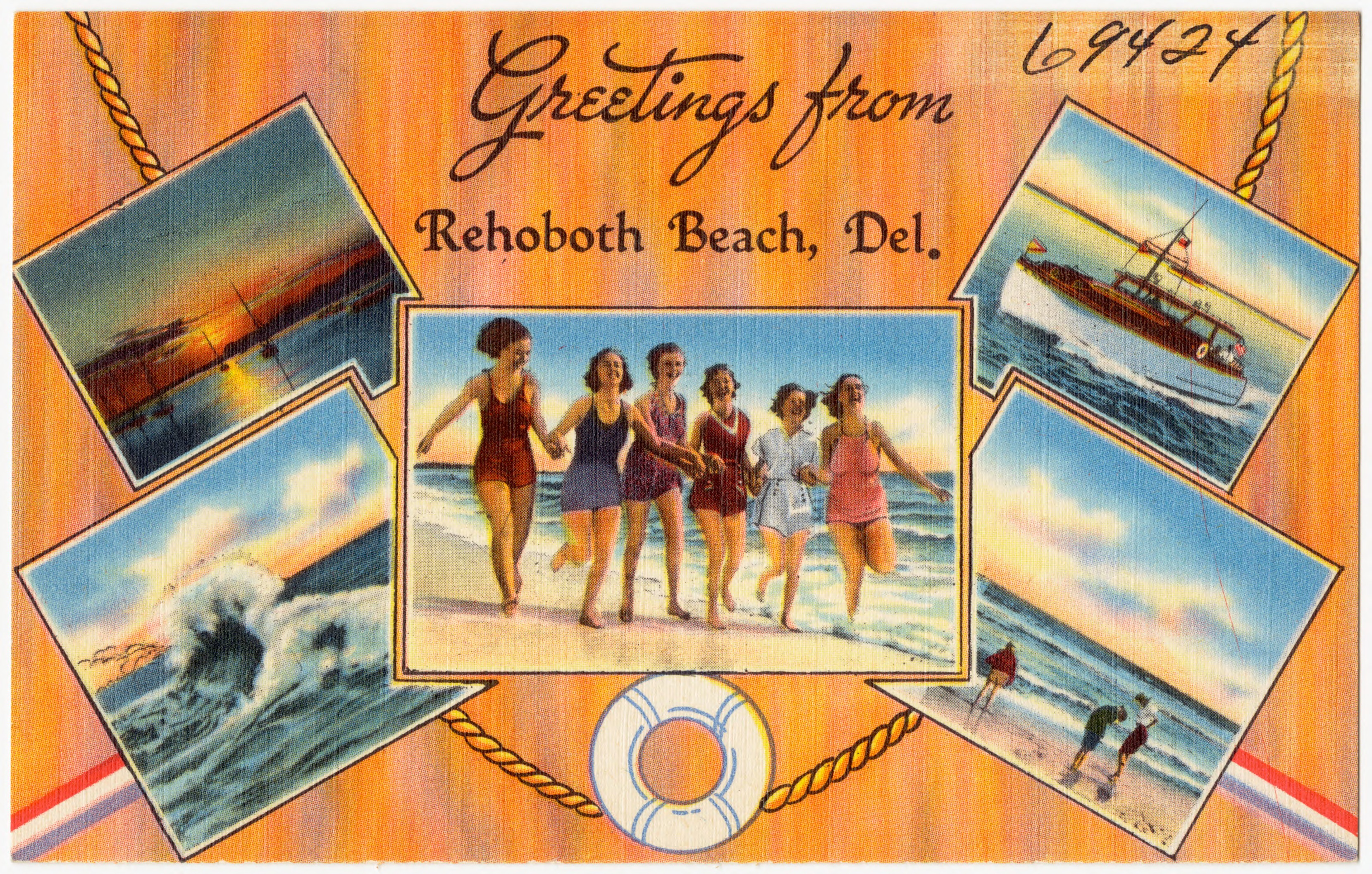 Filegreetings From Rehoboth Beach Del 69424g Wikimedia Commons