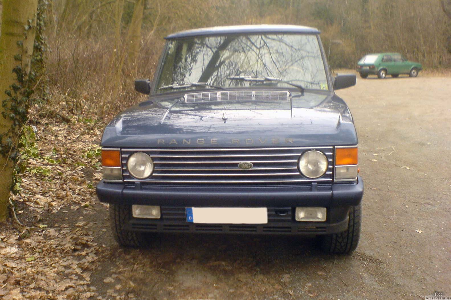 File Grill Range Rover Classic Jpg Wikimedia Commons