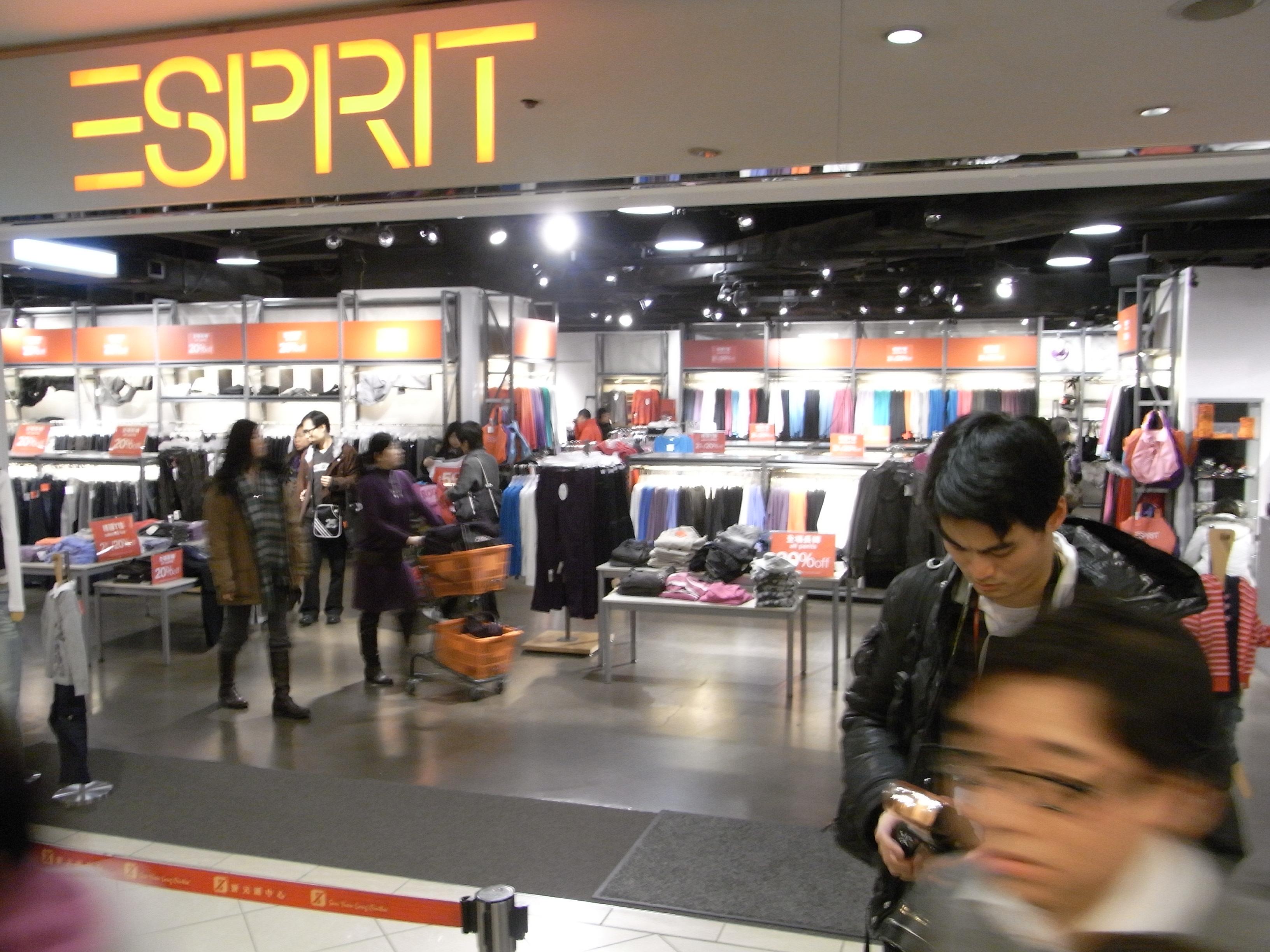 esprit b shop