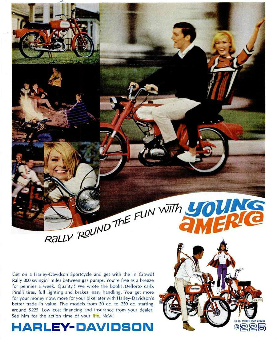Honda Super Cub Wikipedia Cbr 250r Wiring Diagram An Example Of The Harley Davidson Young America Campaign