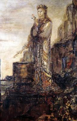 Helen by Gustave Moreau
