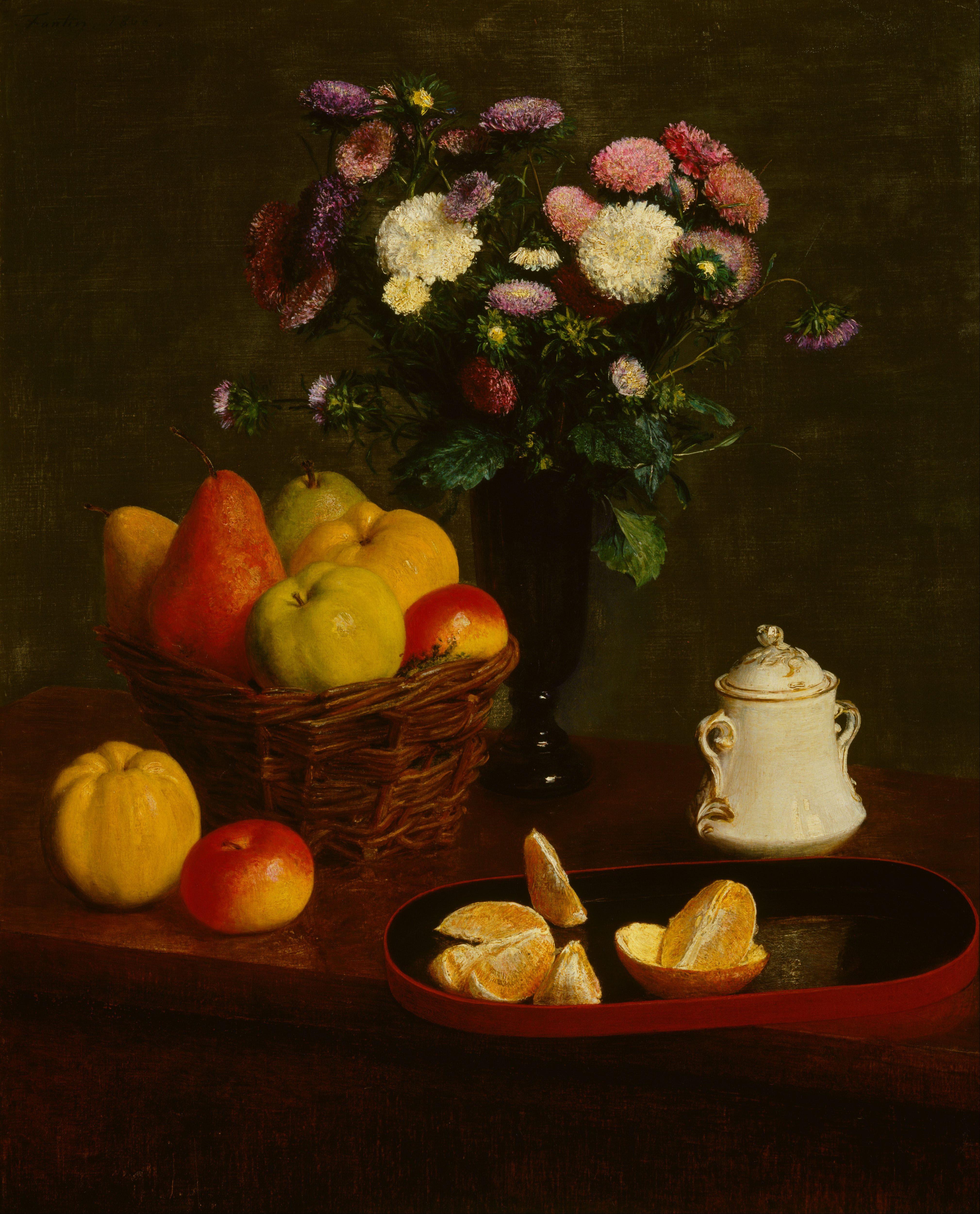 File Henri Fantin Latour Flowers And Fruit Google Art