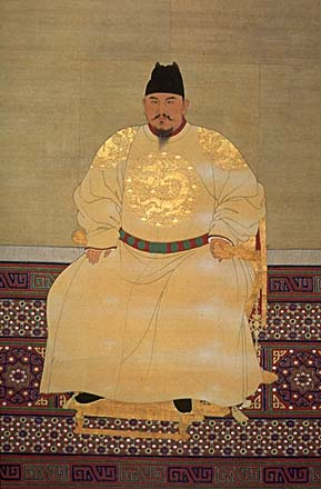 the Hongwu emperor, founder of the Ming dynasty