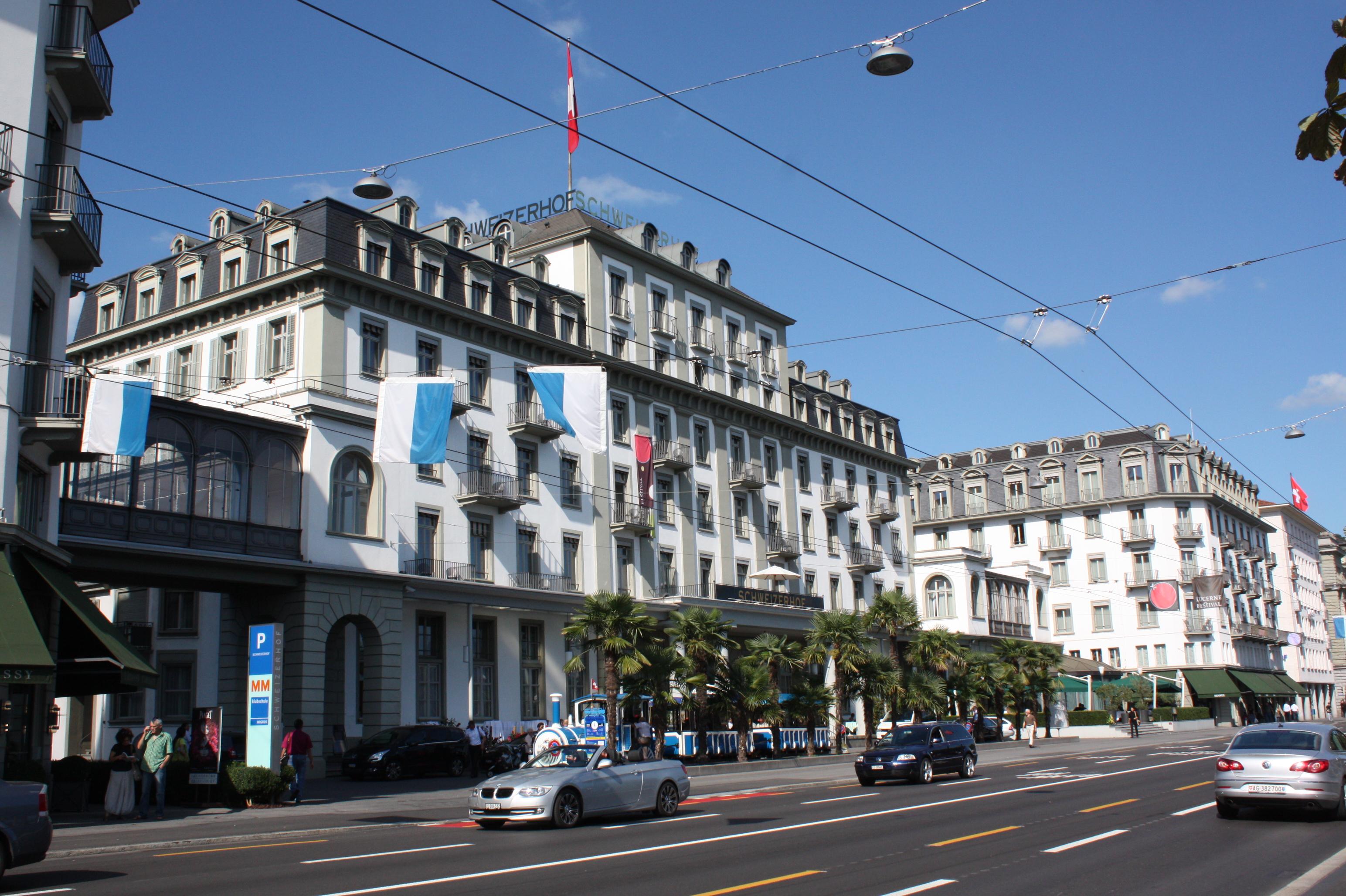 Hotel In Luzern Nahe Bahnhof
