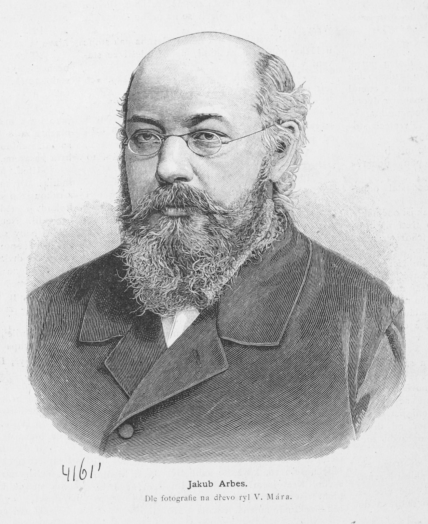 Jakub Arbes (1884)