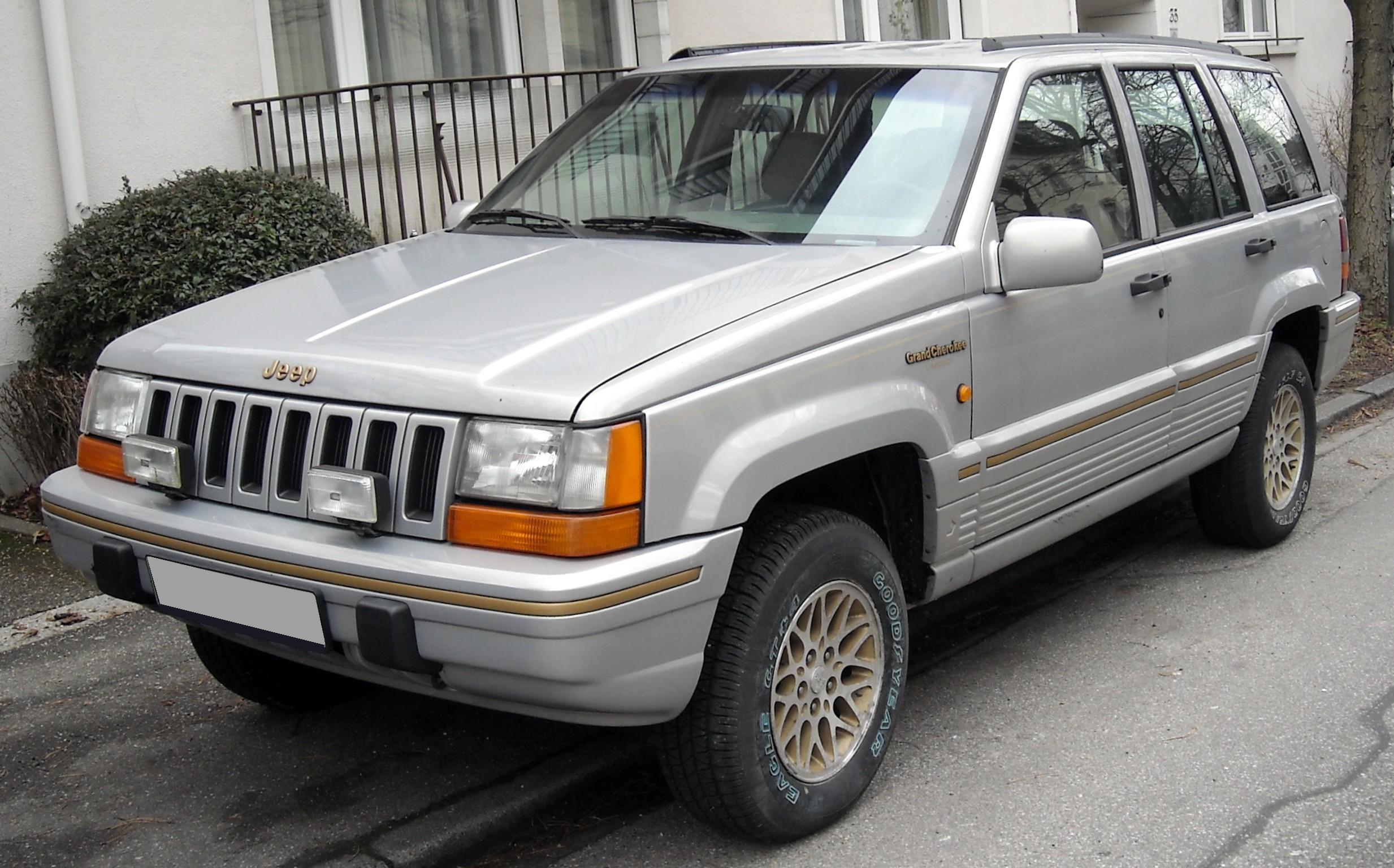 File:Jeep Grand Cherokee ZJ front 20090121.jpg - Wikimedia Commons