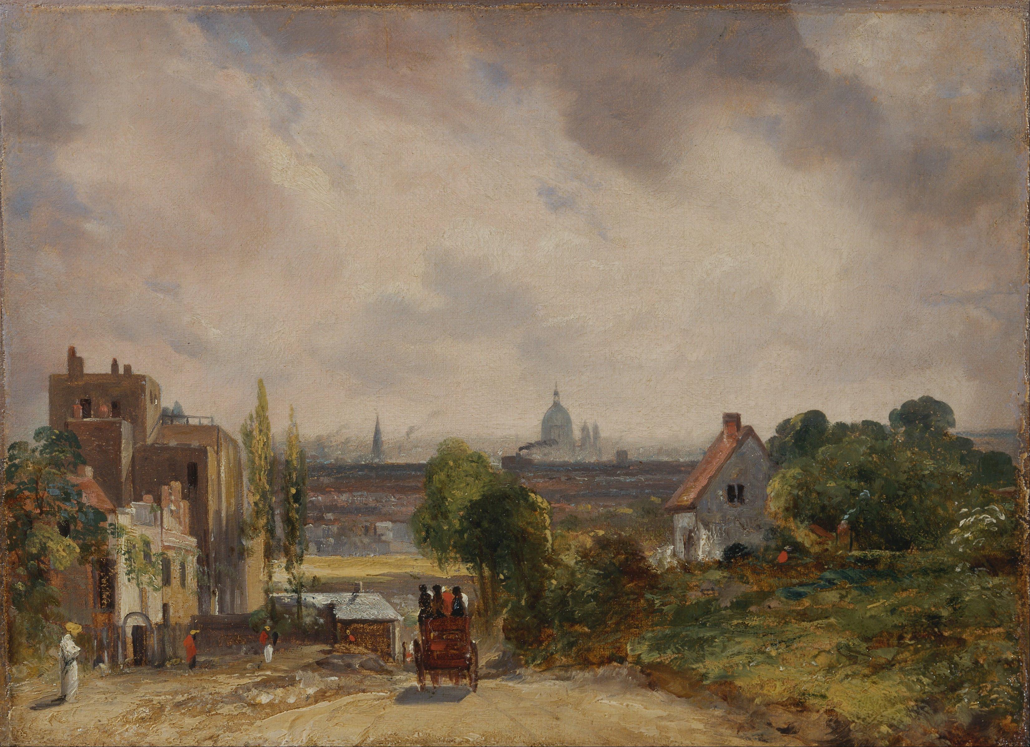 File:John Constable - Sir Richard Steele's Cottage ...
