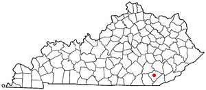 Loko di Barbourville, Kentucky