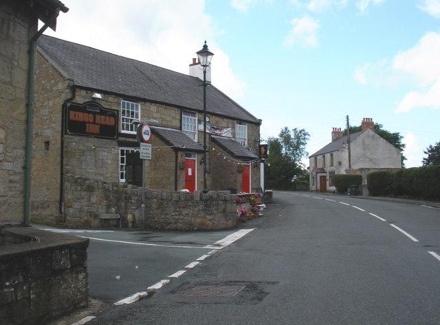 Kings Head Inn C Bwlchgwyn Geograph Org Uk