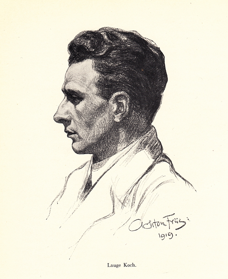 Depiction of Lauge Koch