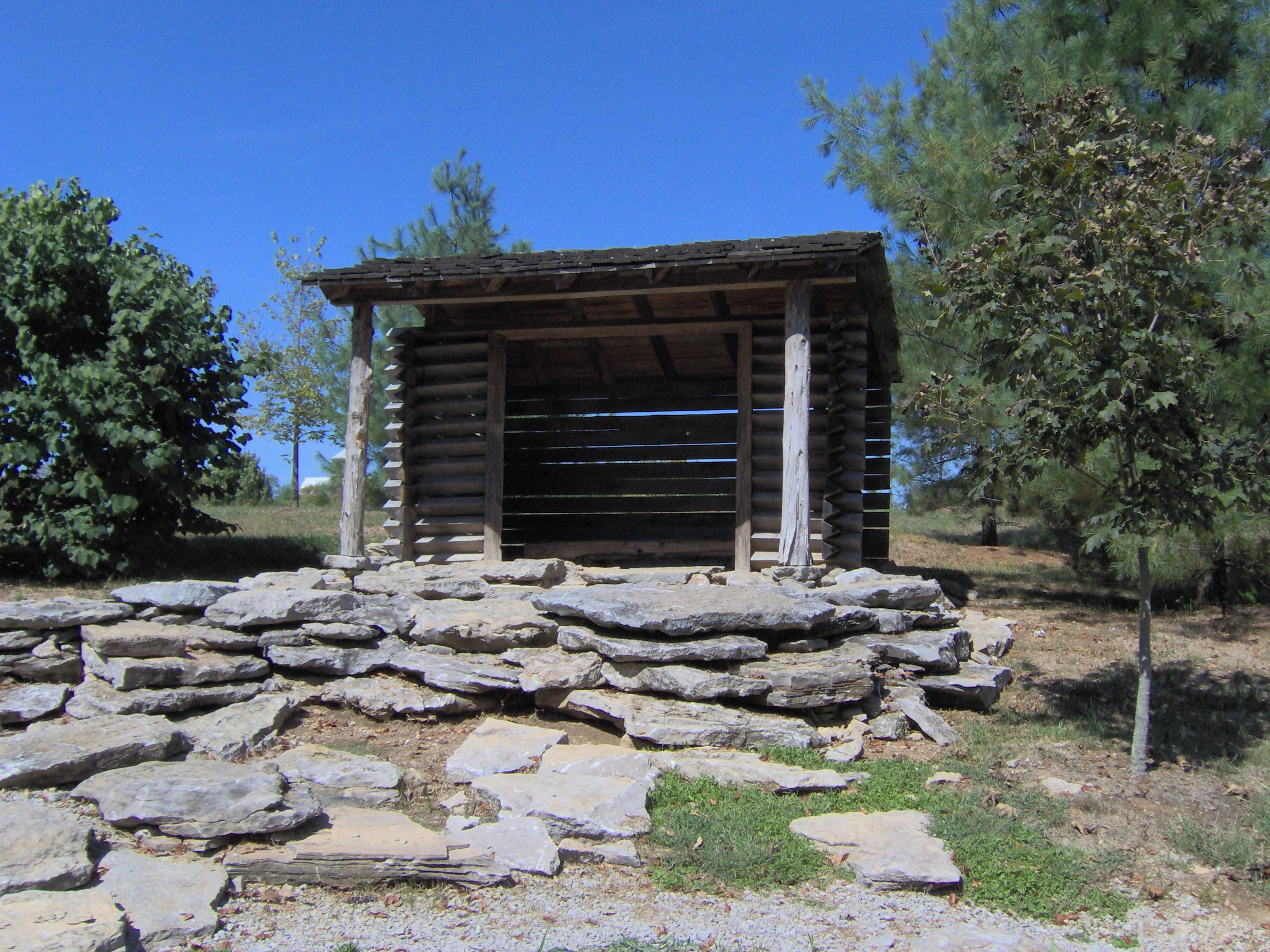 File Log Hut At Yuko En On The Elkhorn Jpg Wikimedia Commons