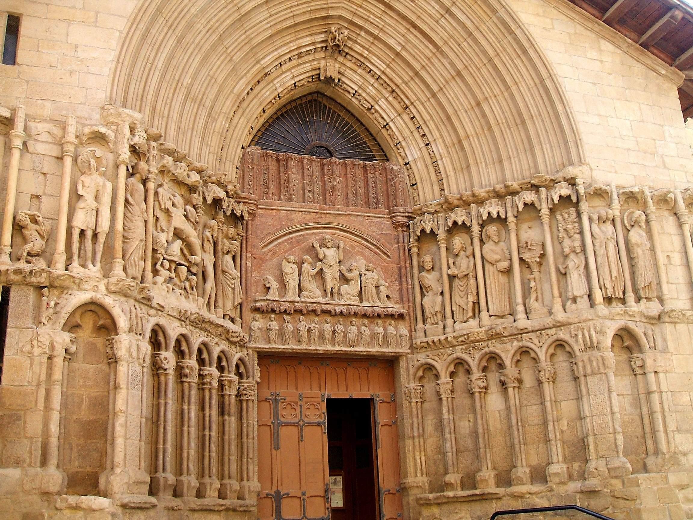 File logro o iglesia de san bartolome wikimedia - Hotel las gaunas en logrono ...